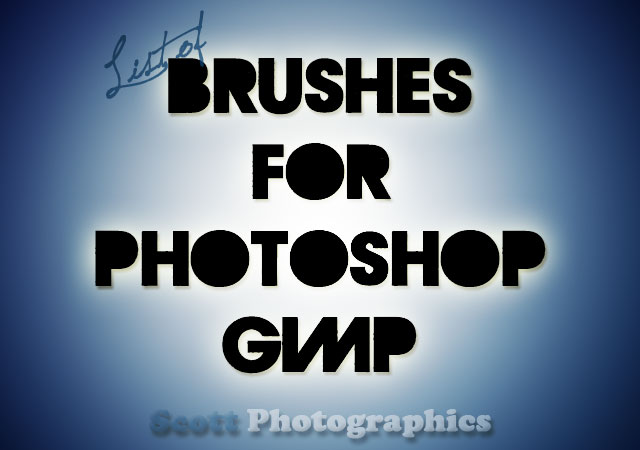Brushes for Photoshop and Gimp