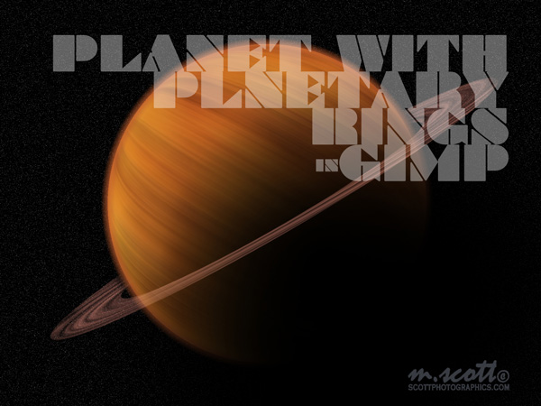 Creating Planets and Planetary Rings