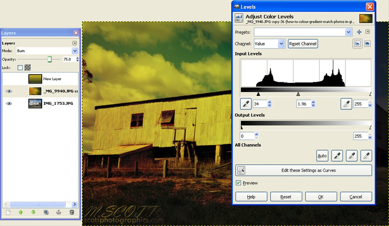 http://www.images.scottphotographics.com/how-to-colour-gradient-match-photos-in-gimp/how-to-colour-gradient-match-photos-in-gimp005.jpg