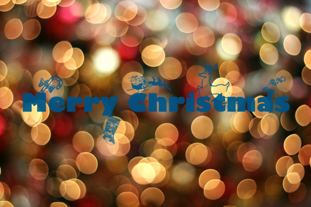 A simple Christmas Card and Wallpaper