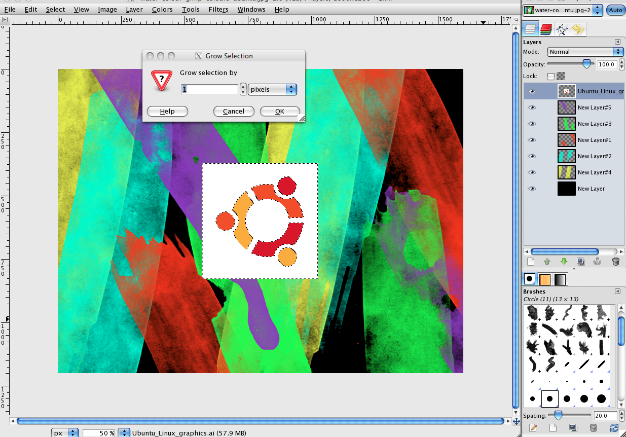 http://www.images.scottphotographics.com/how-to-make-a-water-colour-ubuntu-wallpaper-in-gimp/how-to-make-a-water-colour-ubuntu-wallpaper-in-gimp-7.jpg