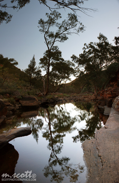 Kings Canyon Pool Reflections