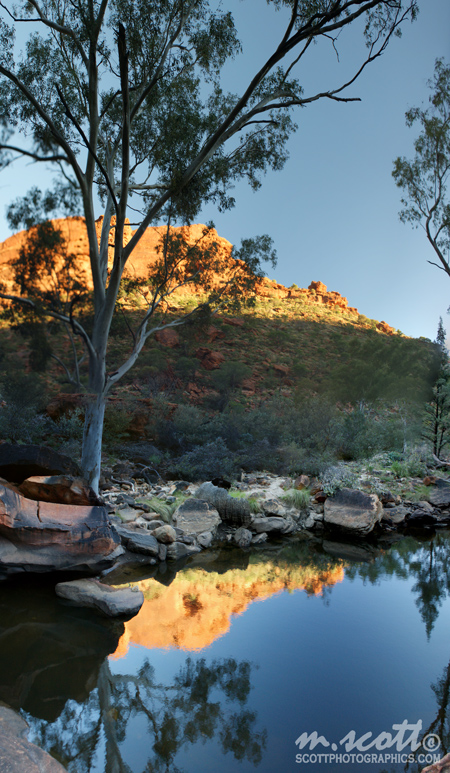 Sunset Reflections - Kings Canyon