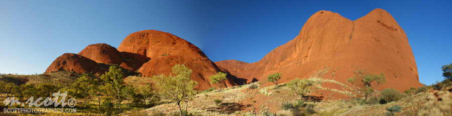 The Olgas, Kata Tjuta - Northern Territory, Australia
