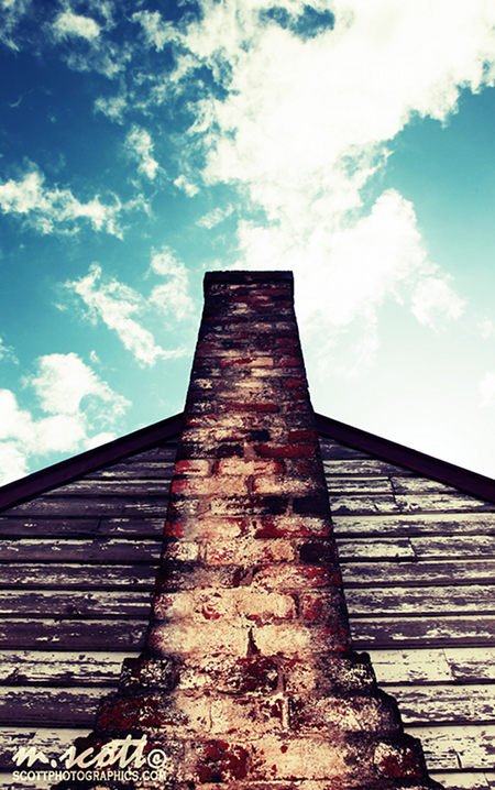 Lomo-Effect on Chimney