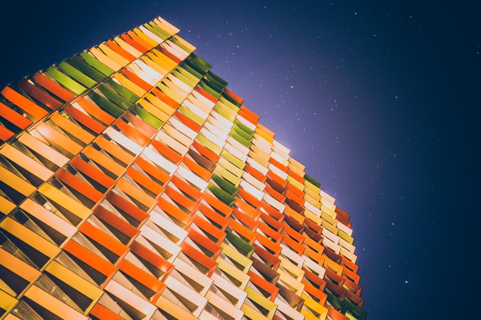 Coloured Apartments Melbourne Australia