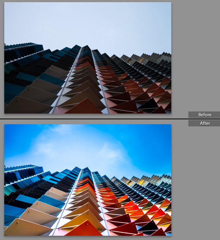 Before / After - Raw Imaging