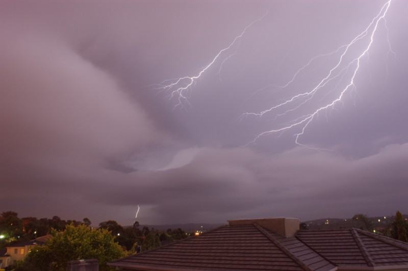 Thunderstorm heading North East