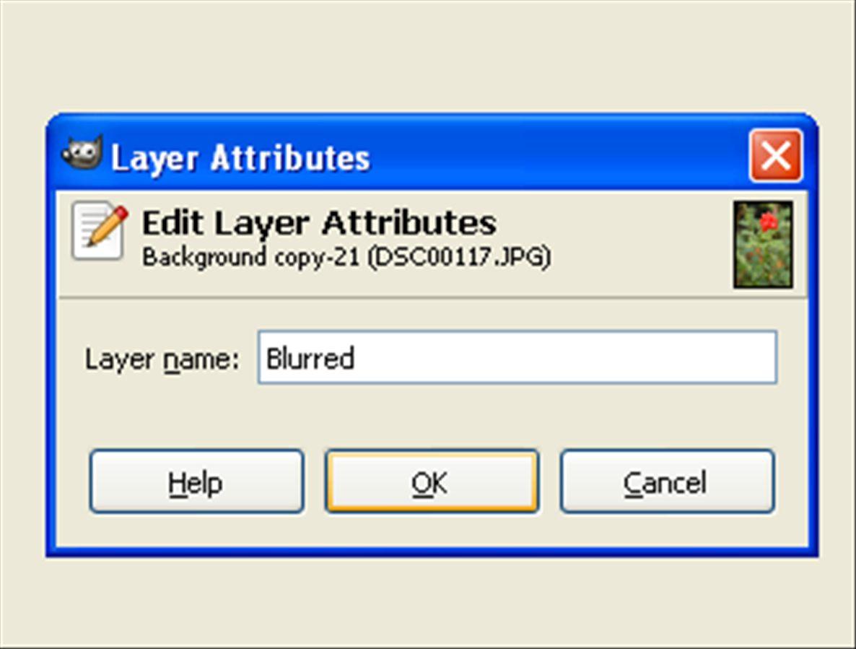Layer 'Blurred'