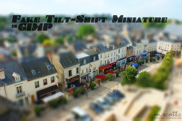 Fake Tilt-Shift Miniature in GIMP