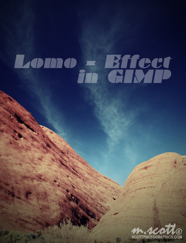 How to make a photograph Lomographic in GIMP