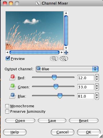 Blue Channel
