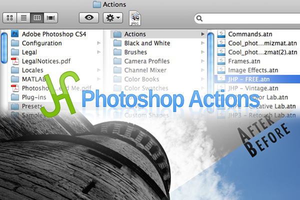 JHP Photoshop Actions - Review