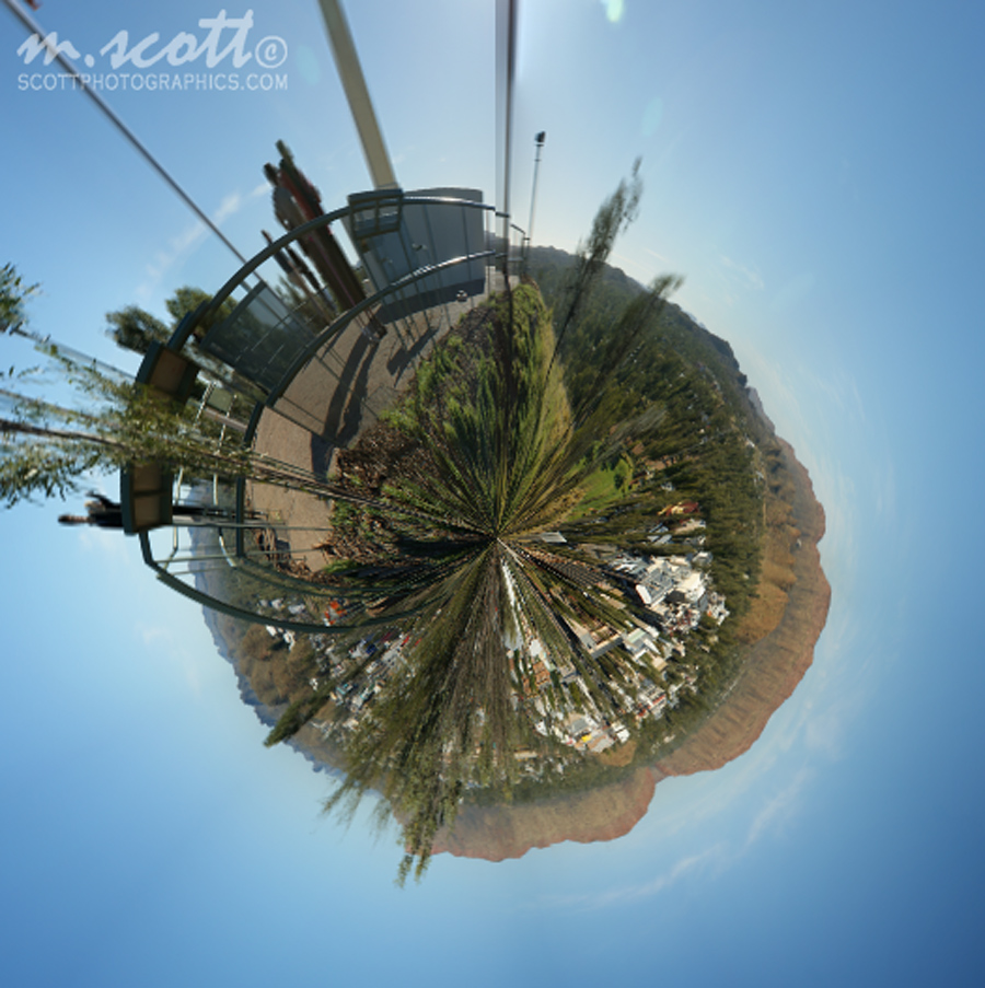 Alice Springs Panorama - Planet
