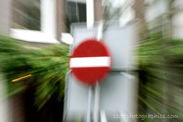 No Entry!